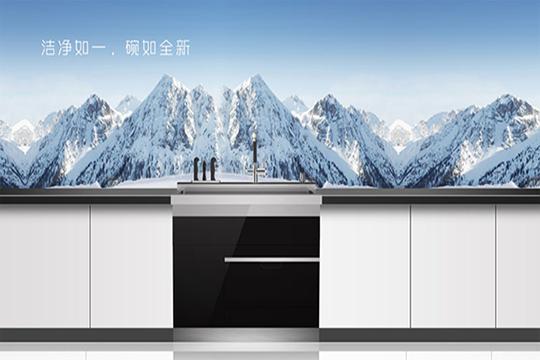 智能厨房时代 :神仙厨房的标配——美多集成灶+洗碗机!