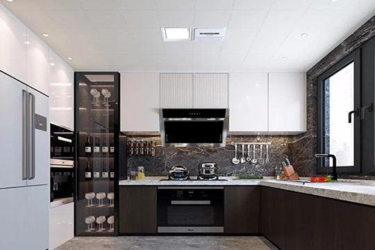 开放式厨房橱柜怎么设计?优格全屋定制橱柜告诉你!