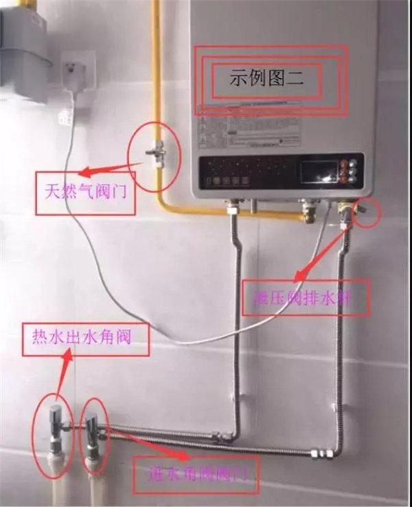 管路是角阀的安装效果示意图