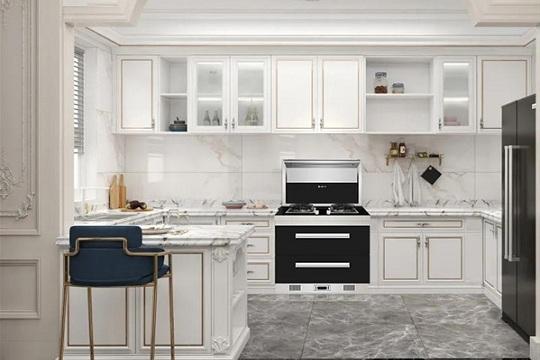 不必大费周章,火星一号集成灶也能让厨房看起来不一样!