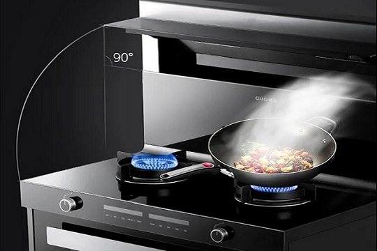 佳歌F2集成灶,打造简约不简单的未来厨房!