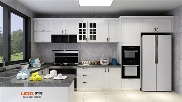 优格橱柜 厨房也需高级感,试试这样装让厨房更上档次!