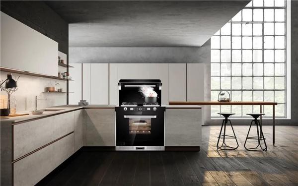 厨房装声控灯,不如装佳歌蒸烤消一体集成灶!
