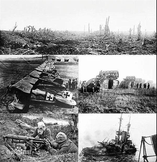 第一次世界大战资料图