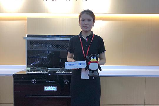 【2021上海厨卫展】科大马杏杏:专注集成灶领域,100%帮扶让经销商盈利
