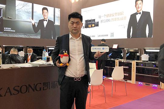 凯歌董事长韦修耀:大力支持代理商拓展销售网点的宽度 提升凯歌市场占有率