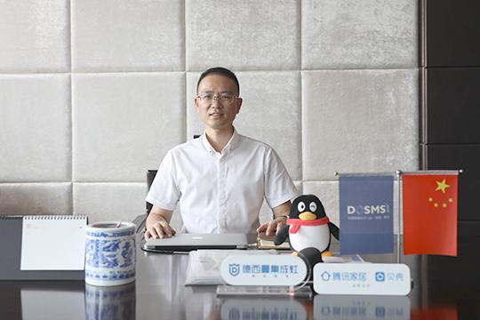 """德西曼董事长童志阳:持续贯彻""""小厨大爱""""品牌理念 做世界厨电服务商"""