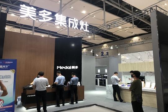 【2021广州展】 创新产品+怒砸品牌 美多推动中国智能厨电加速前进