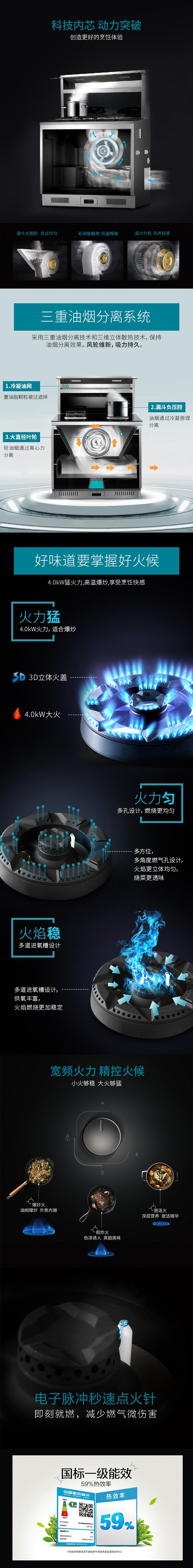 森歌Q1集成灶产品介绍